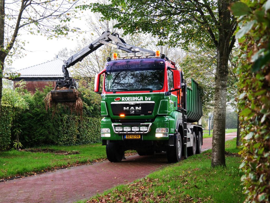 Groenafval afvoeren Friesland