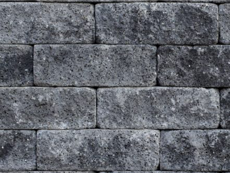 Stapelblokken Friesland Splitrocks Grijs-zwart