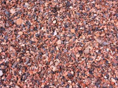 Rode mijnsteen Friesland