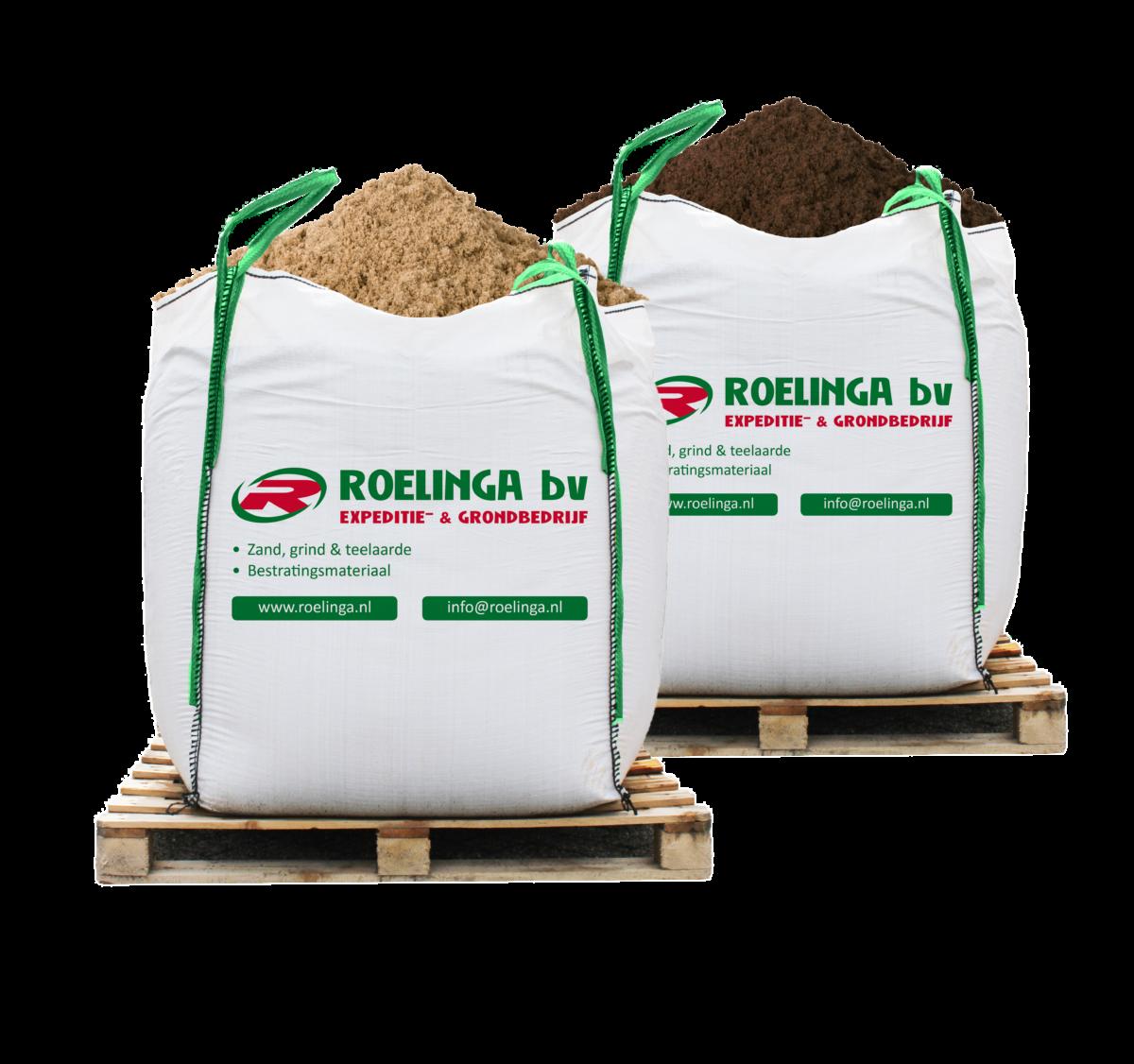 Big bag zand en big bag grond Friesland